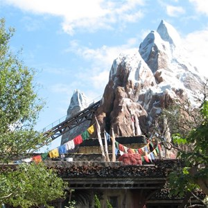 3 of 44: Expedition Everest - Expedition Everest construction
