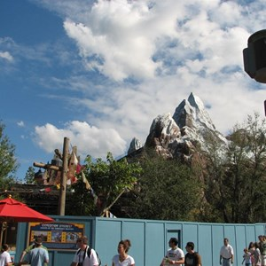 11 of 44: Expedition Everest - Expedition Everest construction