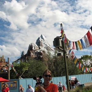 13 of 44: Expedition Everest - Expedition Everest construction