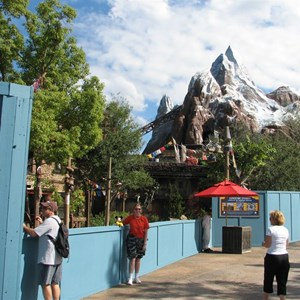 14 of 44: Expedition Everest - Expedition Everest construction