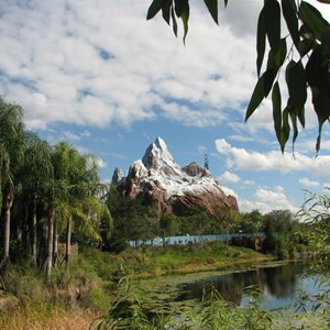 18 of 44: Expedition Everest - Expedition Everest construction