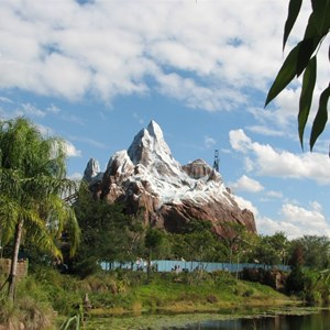 19 of 44: Expedition Everest - Expedition Everest construction