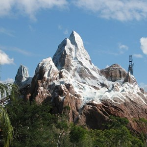 20 of 44: Expedition Everest - Expedition Everest construction