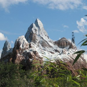 22 of 44: Expedition Everest - Expedition Everest construction