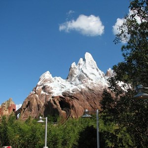 23 of 44: Expedition Everest - Expedition Everest construction
