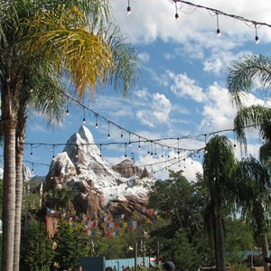 24 of 44: Expedition Everest - Expedition Everest construction