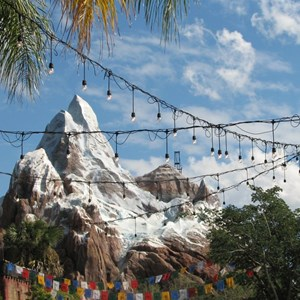25 of 44: Expedition Everest - Expedition Everest construction