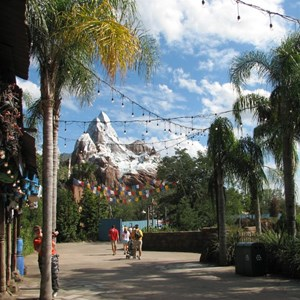 26 of 44: Expedition Everest - Expedition Everest construction