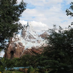 33 of 44: Expedition Everest - Expedition Everest construction