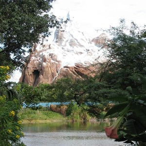 34 of 44: Expedition Everest - Expedition Everest construction