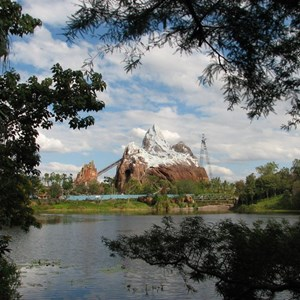36 of 44: Expedition Everest - Expedition Everest construction