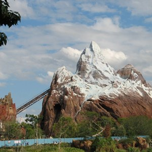 37 of 44: Expedition Everest - Expedition Everest construction
