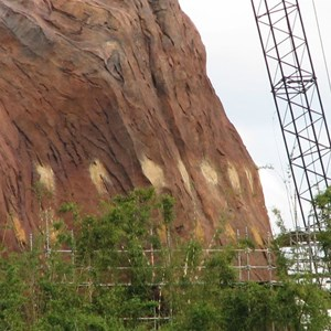 39 of 44: Expedition Everest - Expedition Everest construction