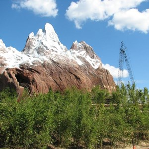 40 of 44: Expedition Everest - Expedition Everest construction