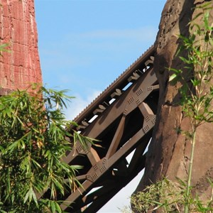 42 of 44: Expedition Everest - Expedition Everest construction
