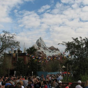 7 of 47: Expedition Everest - Expedition Everest queue area preview
