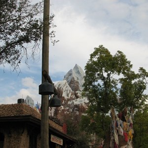 9 of 47: Expedition Everest - Expedition Everest queue area preview