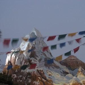 45 of 47: Expedition Everest - Expedition Everest queue area preview