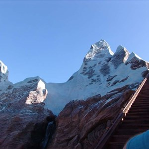 4 of 22: Expedition Everest - Expedition Everest onride preview