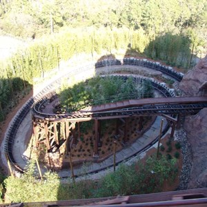 6 of 22: Expedition Everest - Expedition Everest onride preview