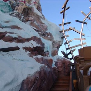 9 of 22: Expedition Everest - Expedition Everest onride preview