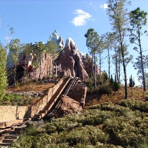 10 of 22: Expedition Everest - Expedition Everest onride preview