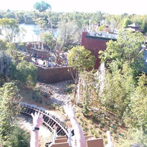 12 of 22: Expedition Everest - Expedition Everest onride preview