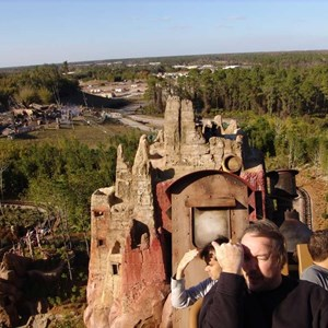 14 of 22: Expedition Everest - Expedition Everest onride preview