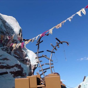 20 of 22: Expedition Everest - Expedition Everest onride preview
