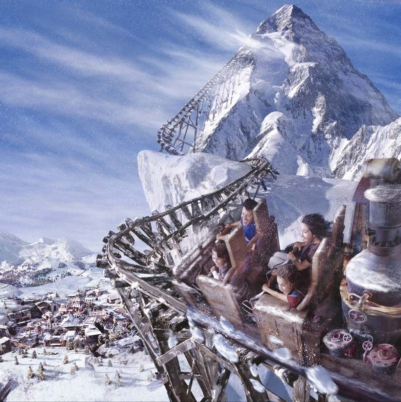 Expedition Everest concept art