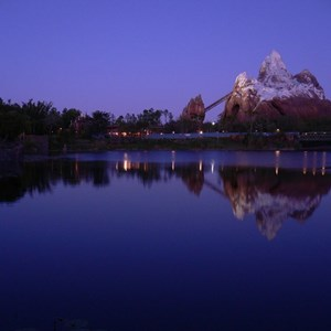 1 of 20: Expedition Everest - Expedition Everest at night