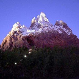 2 of 20: Expedition Everest - Expedition Everest at night