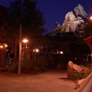 3 of 20: Expedition Everest - Expedition Everest at night