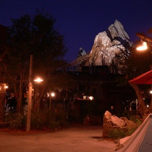 6 of 20: Expedition Everest - Expedition Everest at night