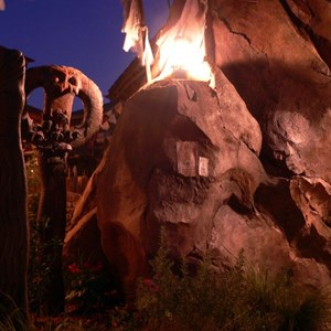 8 of 20: Expedition Everest - Expedition Everest at night