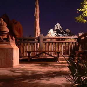 17 of 20: Expedition Everest - Expedition Everest at night
