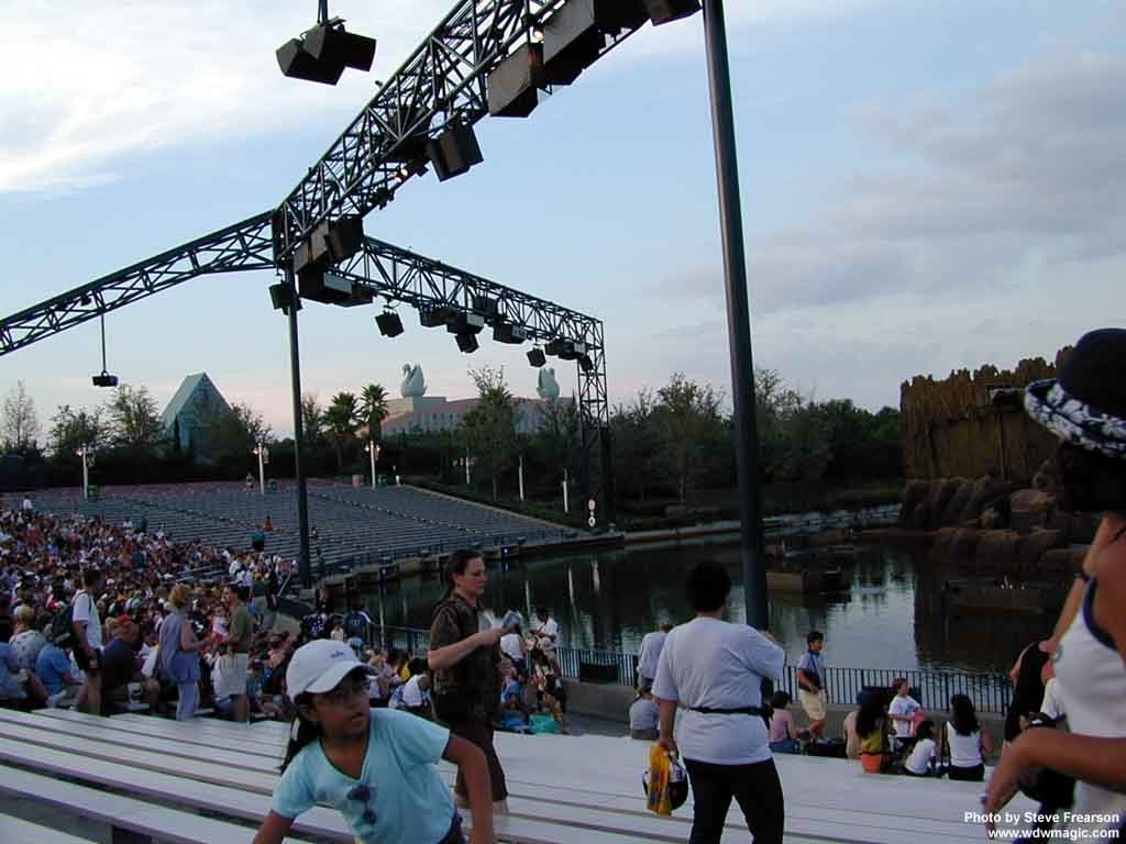 Inside the Hollywood Hills Amphitheater