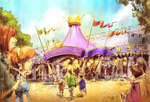 Fantasyland - Princess Fairytale Hall