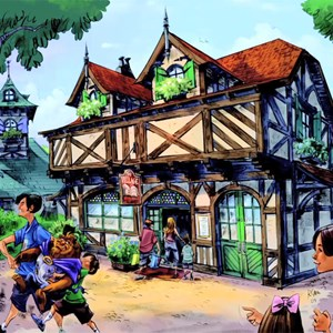 8 of 13: Fantasyland - Bonjour! Village Gifts in Belle's Village