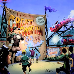 10 of 13: Fantasyland - The Great Goofini