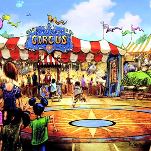 11 of 13: Fantasyland - Storybook Circus land