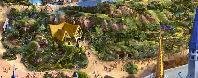 Fantasyland - The Seven Dwarfs Mine Train coaster