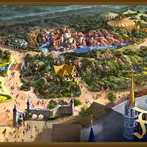 1 of 13: Fantasyland - Fantasyland expansion overview