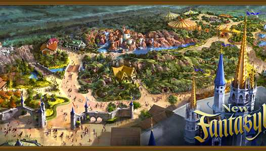 Round-up of the now officially confirmed, newly revised Fantasyland expansion - including all new concept art