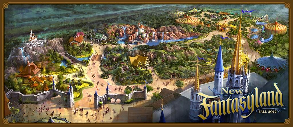 New Fantasyland Concept Art