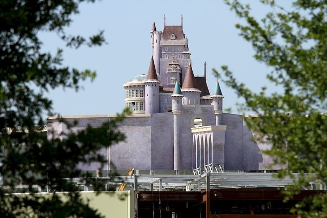 Fantasyland - A closeup of Beast's Castle - work in progress