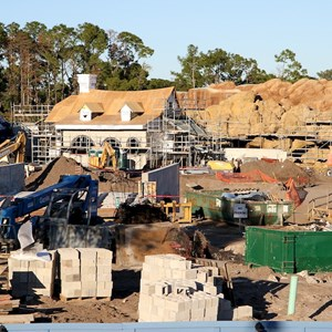11 of 11: Fantasyland - Fantasyland construction site