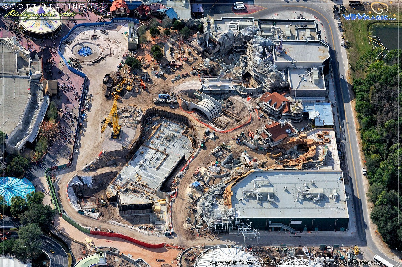 Aerial Construction photos