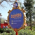 Fantasyland - Dumbo signage