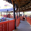 Fantasyland - The outside queue of Dumbo